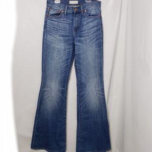 Madewell Flea Market Flare Jeans Size 28